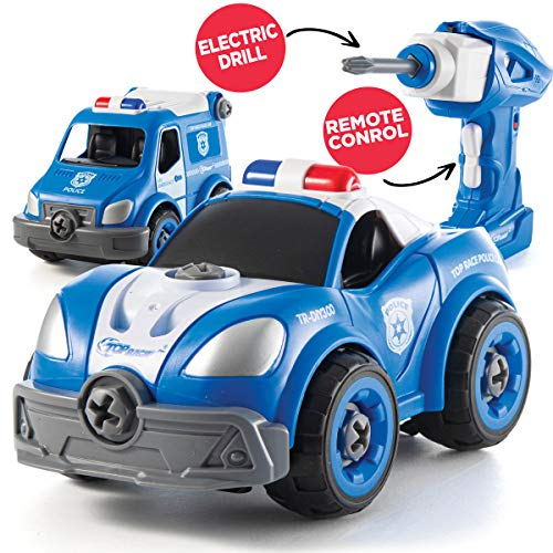 Take Apart Police Car For Toddlers