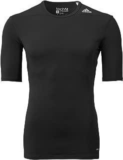 adidas Performance Mens Men's Techfit Compression Baselayer Short Sleeve