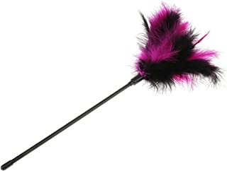 Jili Online Black Rose Feather Tickler Naughty Party Fancy Dress Toy Hen Party Favors