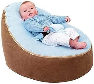 SUP-MANg Baby Bean Bag  Baby Seat Nursing Bed Soft Fabric Sleeping Bag Toddler Lazy Causal Sofa 25 6x22 04x15 7inches  Color  4