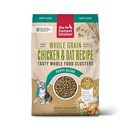 The Honest Kitchen Whole Food Clusters Human Grade Dry Puppy Food - Whole Grain Chicken, 20 lb.