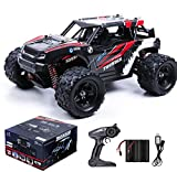 MaxTronic Remote Control Car, 36KM/H High Speed RC Truck, 1/18 Scale 4X4 Remote Control Truck Off Road-All Terrain, 2.4Ghz Racing RC car Two Rechargeable Batteries Included for All Adults & Kids