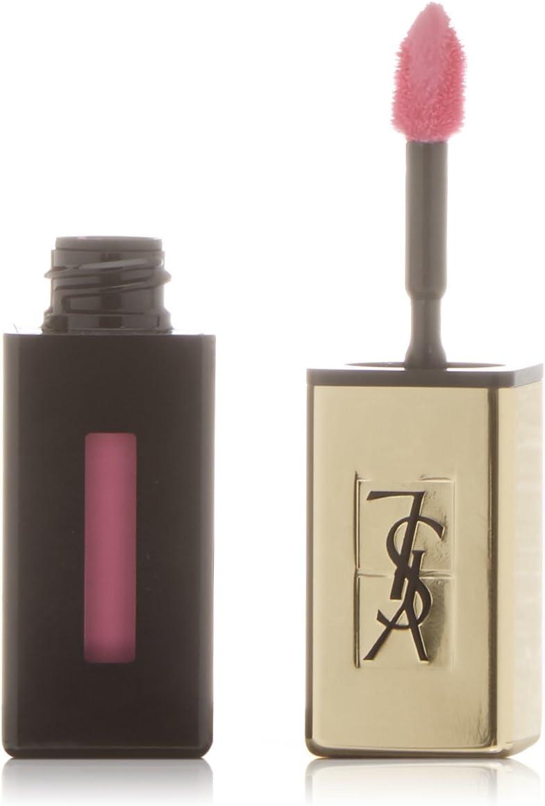 Yves Saint Laurent - Vernis A Levres Rouge Pur Couture Nº 17 Encre Rose - Barra de labios - 10 ml
