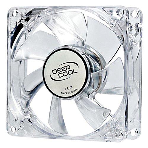 DeepCool XFAN 80L/R - XFAN80L/R - Ventilador de PC (Carcasa del Ordenador, Ventilador, 8 cm, 1800 RPM, 1800 RPM, 20 dB)