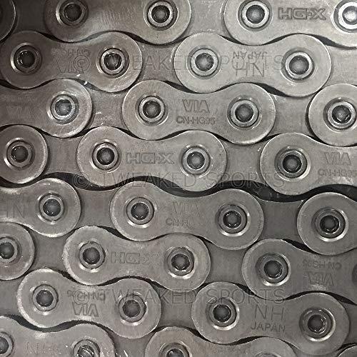 Shimano Deore Xt CNHG95 - Cadena para bicicleta Xt 10 velocidades, 116 Eslabones
