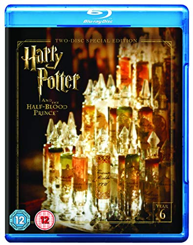 Harry Potter and the Half Blood Prince [Year 6] [2016 Edition 2 Disk] [Blu-ray] [2009] [Region Free]