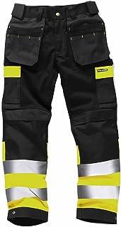 Pantalones de Trabajo Alta Visibilidad Resistentes Pantalones Laborales con Bolsillos Rodillas Triple Costura Ropa de Trabajo Resistente ? Tamaños 71,12 a 116,84cm