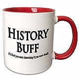3dRose History Buff...image