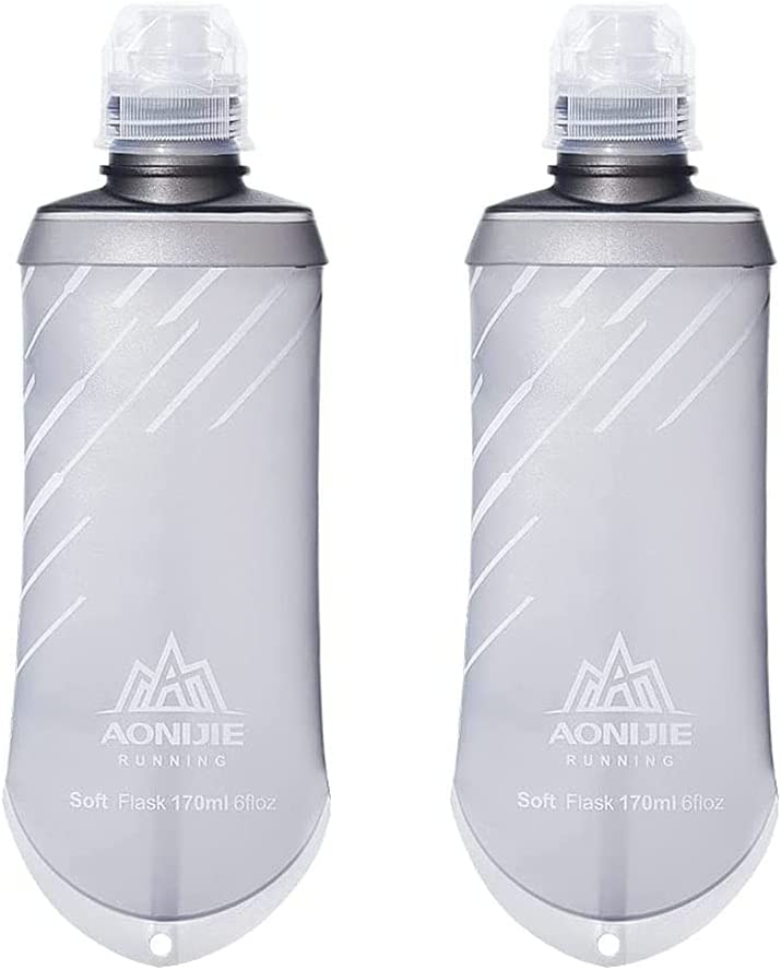 Max 62% OFF AONIJIE 2PCS TPU Collapsible 170ML Energy Soft Fla Super popular specialty store Nutrition Gel