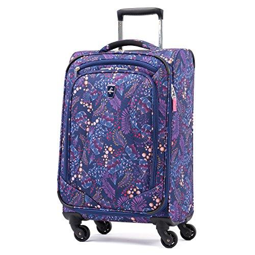 Atlantic Luggage Atlantic Ultra Lite Softsides Carry-on Exp. Spinner, lulu navy
