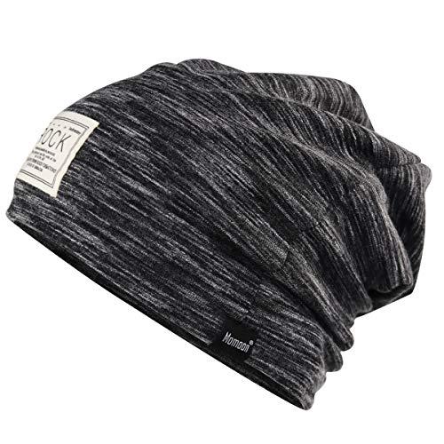 Momoon Slouch - Gorro de algodón clásico, suave y transpirable, nuevo diseño...