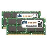 PHS-memory 16GB (2x8GB) Kit RAM Speicher für QNAP TS-453Be-2G DDR3 SO DIMM 1866MHz PC3L-14900S