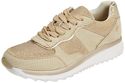 XTI 47792, Zapatillas para Mujer, Dorado (Gold), 38 EU