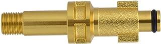 oshhni Pressure Washer Adaptor 1/4'' Quick Release Snow Foam Lance Adapter for Kew Nilfisk Alto Karcher K Series - Fit for...
