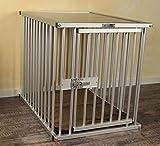 Premium cage de transport en aluminium, taille L, pour le bureau, à la maison ou en vadrouille,...