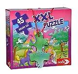 Noris 606034961 - Puzzle gigante (45 piezas), diseño de princesa , color/modelo surtido