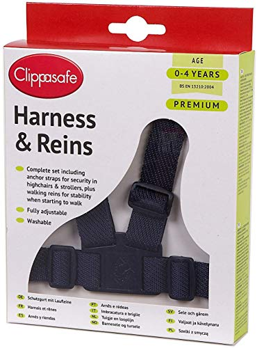 Clippasafe Easy Wash Harness - Navy