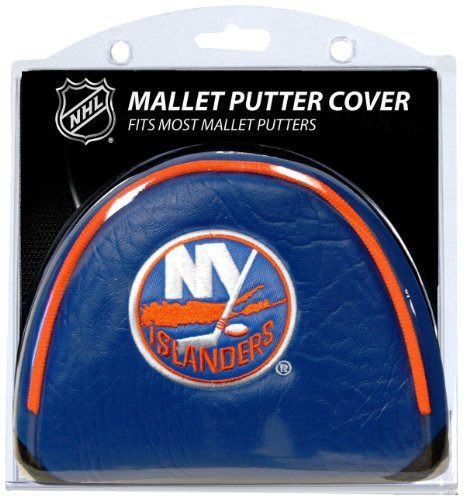 Team Golf NHL New York Islanders Golf Club Mallet Putter Headcover, Fits Most Mallet Putters, Scotty Cameron, Daddy Long Legs, Taylormade, Odyssey, Titleist, Ping, Callaway