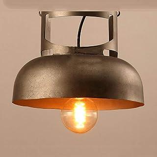 Lámpara de techo con ahorro de energía estilo retro hierro estilo industrial creatividad personalidad lámpara de ara...