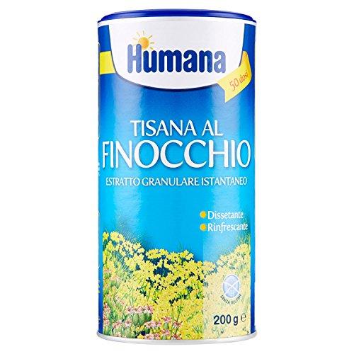 Humana Tisana al Finocchio - 3 pezzi da 200 g [600 g]