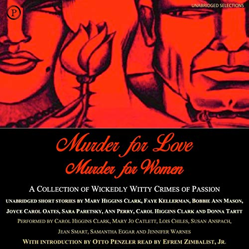 Murder for Love, Murder for Women audiobook cover art
