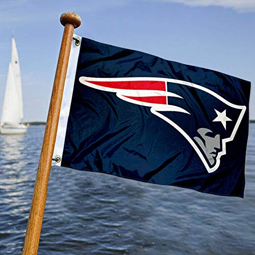 WinCraft New England Patriots Boat and Golf Cart Flag