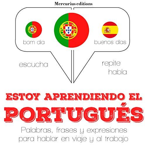 Diseño de la portada del título Estoy aprendiendo el portugués