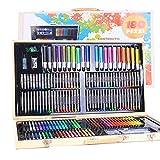 AllRing 180 STÜCKE Teilig Malset Zeichenset Buntstifte Set für Kinder