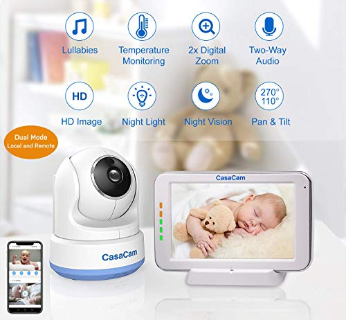 51BellWA5PL 12 Best Baby Monitors Under $150–$200 Review [Updated 2021]