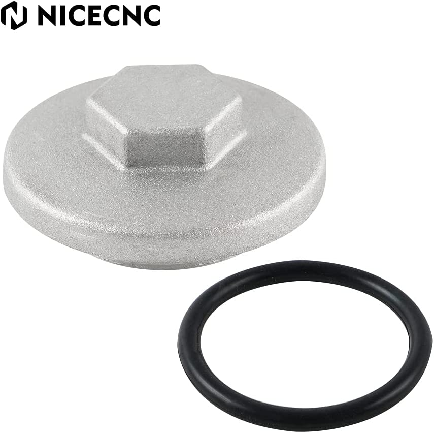 NICECNC Engine Challenge the lowest price Valve Tappet Adjustment Lid 17mm O-Ring Cap Popular brand in the world Cover
