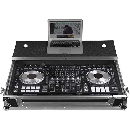 UDG U92010SL - FC Pioneer DDJ-RZ/SZ2 Silver Plus (Laptop Shelf + Wheels)