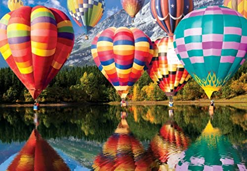 Buffalo Games Balloons in Flight 2000 Pieces Jigsaw Puzzle by Buffalo Games