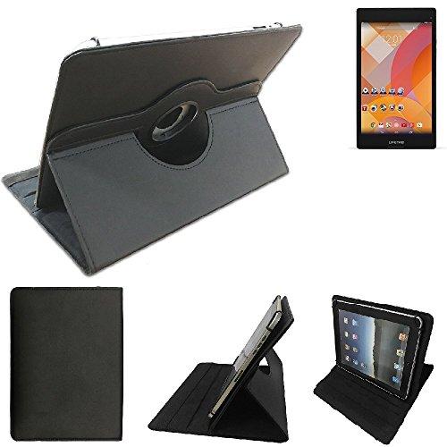 K-S-Trade® Medion Lifetab S8312 Schutz Hülle 360° Tablet Case Schutzhülle Flip Cover Für Medion Lifetab S8312, Schwarz. Tablet Hülle Drehbar Standfunktion Ultra Slim Bookstyle