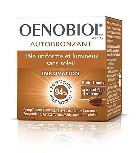 Oenobiol - Autobronceador 1 mes - 30cápsulas