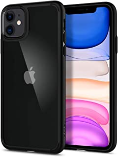 Spigen Cover Ultra Hybrid Compatibile con iPhone 11 - Nero