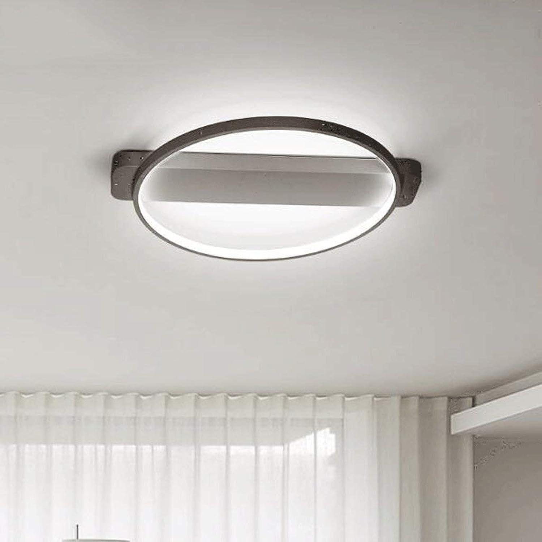 Moderne LED-Deckenleuchte, Creative Cycle - Schlafzimmer Schlafzimmer Kinderzimmer Lounge Personalisierte Leuchten Lampe SMD LED-Lichtquelle für Lampen (Farbe  Schwarz, Gre  Durchmesser von 66 cm).