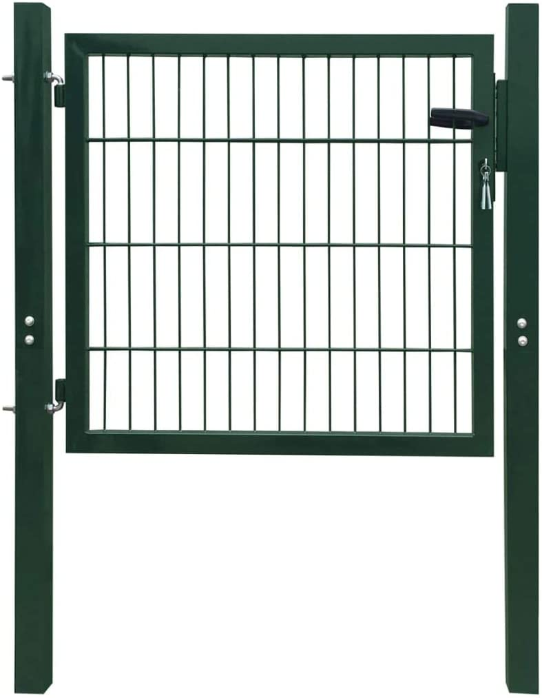 Max 78% OFF Outdoor Garden Gate Stable use Long-term Seattle Mall Wit Corrosion-Resistant