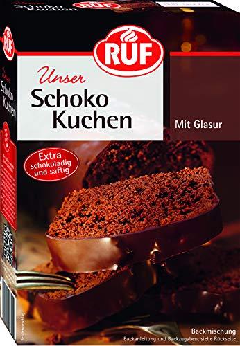 RUF Schokoladen- Kuchen mit Glasur, 1er Pack (1 x 475 g Packung)