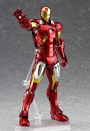 YXCC Figura de acción de Iron Man Modelo de articulación móvil Tony Estatua de Hombre de Hierro