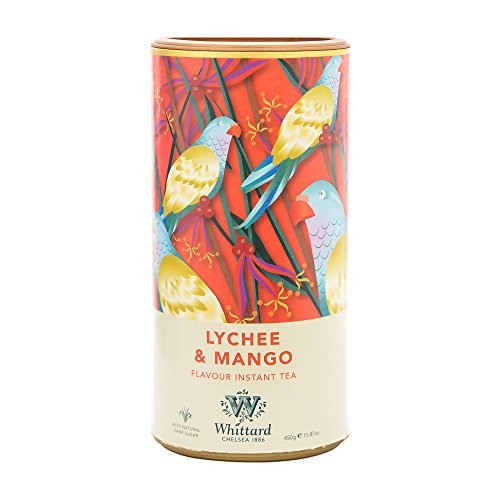 英国 Whittard (ウィッタード) インスタントティー ライチ&マンゴー 450g Lychee & Mango Instant Tea [並行輸入品]