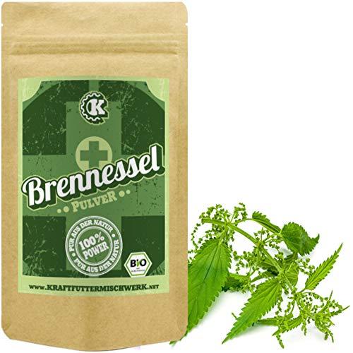 Bio Brennesselpulver (250g) - Rohkost - Vegan - Brennesselblattpulver