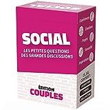 SOCIAL Couples - Les Petites Questions des Grandes Discussions - Jeu de 110 Cartes pour Améliorer la Communication et la Relation Amoureuse
