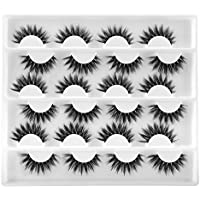 12-Pairs Fanxiton 6D False Eyelashes
