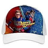 Sunwd Gorra de béisbol Unisexo H-enry Dan-Ger Hip Hop Sombrero de Vaquero Ajustable Impreso en 3D
