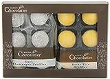 Martins Chocolatier Bucks Fizz (Prosecco mit Orangensaft) und dunkler Champagner Trüffel  Schokoladen Geschenke 
