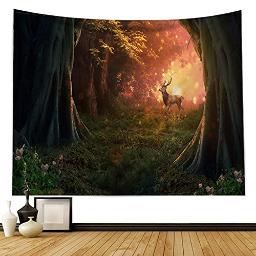 DSman Tapisserie Tenture Murale Tapestry Décoration Pour Chambre Salon Beau mur de décoration de Maison en Tissu suspendu Art