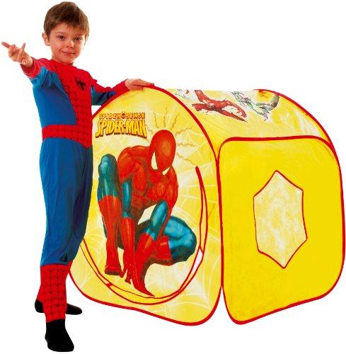 Cesar–Marvel–B071–002–Zelt Spiderman Spectacular