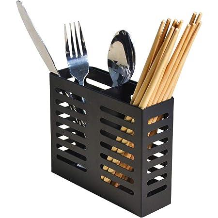 Stainless Steel Cutlery Chopsticks Organizer Rack Holder Drainer Storage Utensil