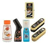 Zora Unisex Shoe Care Kit (Pack Of 6) - Multicolour