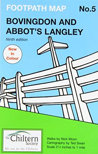Chiltern Society Footpath Map No. 5 - Bovingdon and Abbots Langley (Chiltern...